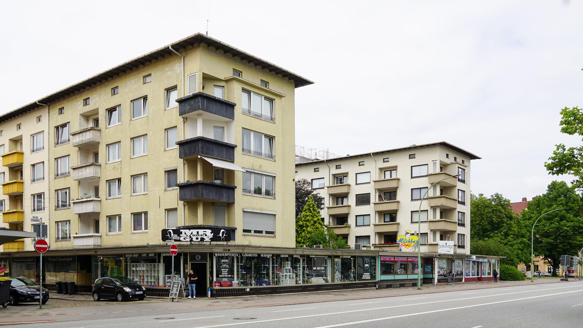 Wohn- und Geschäftshaus der 50er Jahre