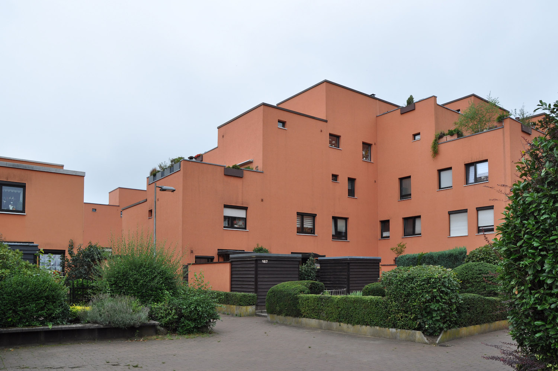 Rote Finnstadt in Wulfen