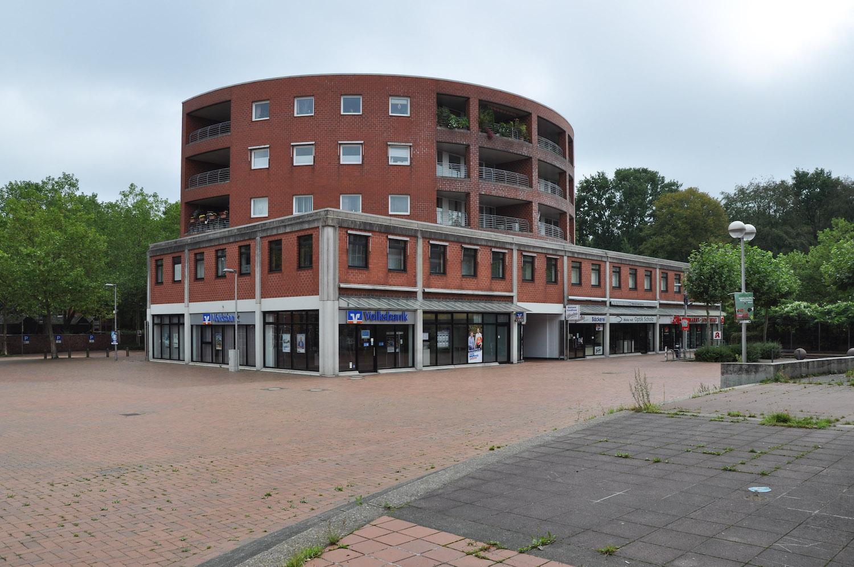 Wohn- und Geschäftshaus Rundbau in Wulfen