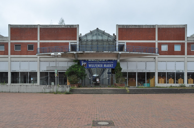 Leerstehendes Einkaufszentrum in Wulfen