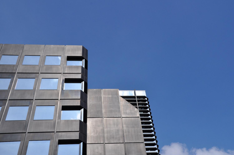 Fassadendetail West-Lotto in Münster