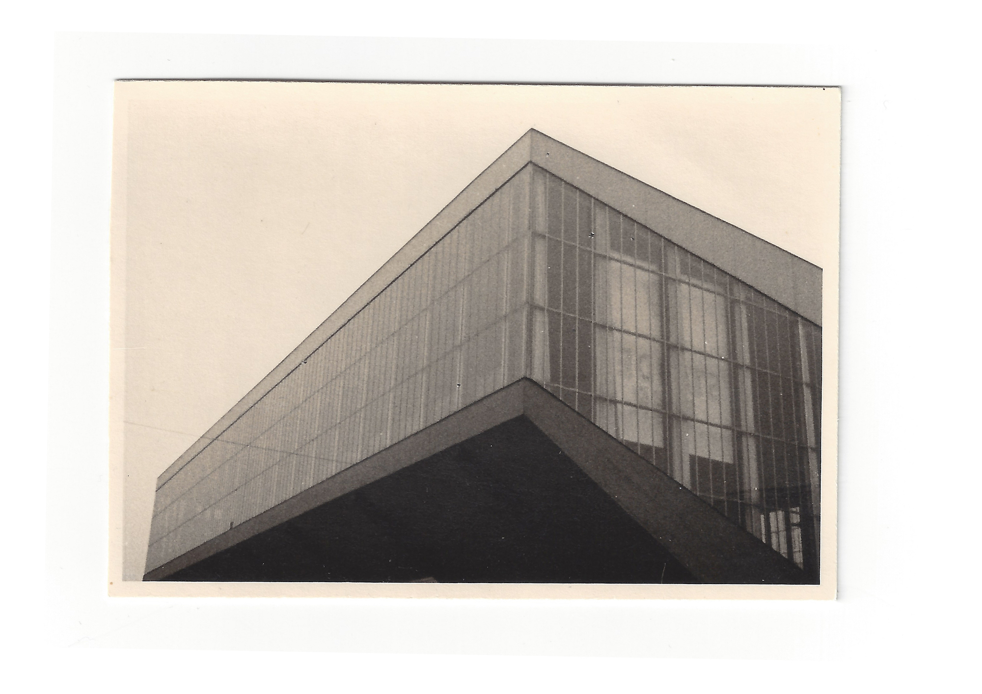 Historisches Bild der Grugahalle in Essen