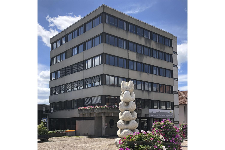 Rathaus der Stadt St. Georgen im Schwarzwald