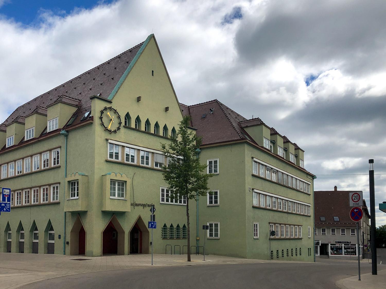 Rathaus der Stadt Schwenningen