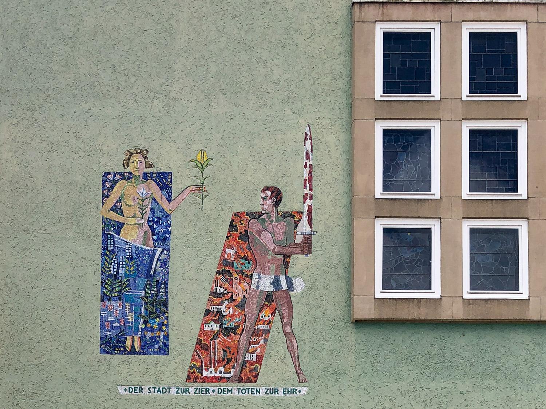 Kunst am Bau am Rathaus Schwenningen