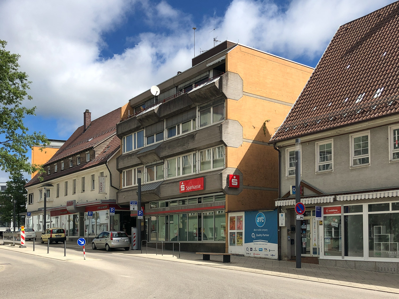 Sparkassengebäude in Schwenningen