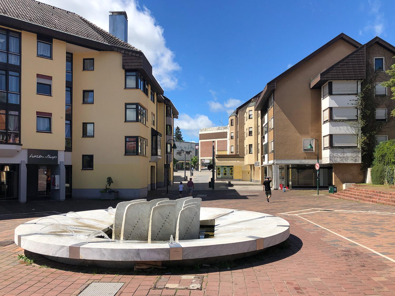 Muslenplatz in Schwenningen