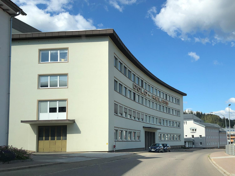 Fabrikgebäude in Furtwangen