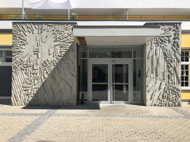 Fassadengestaltung eines Gebäudes in Radolfzell